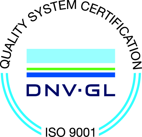 Quality system certification ISO 9001 DNV.GL